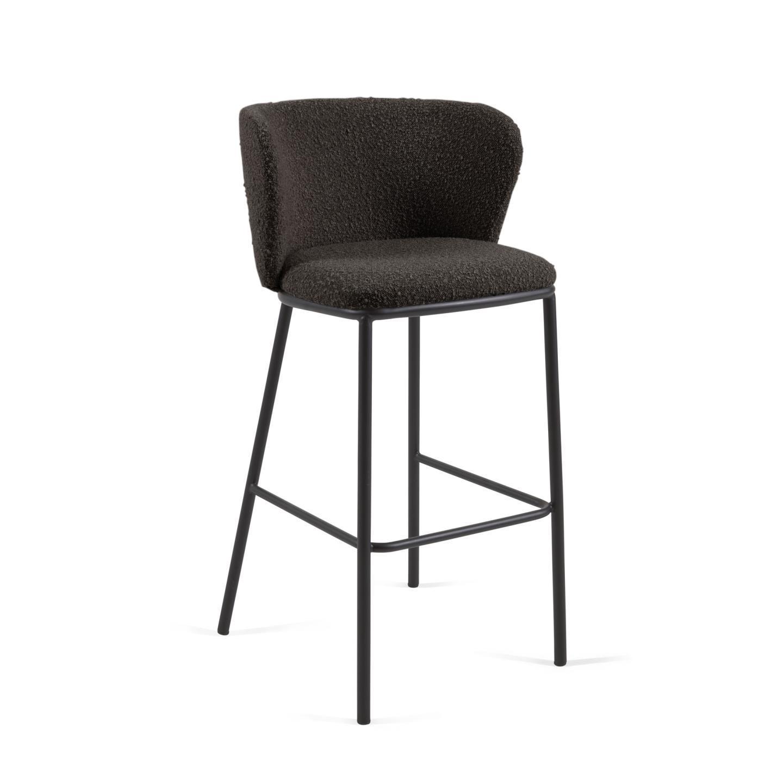 Барный стул CISELIA черный - вид 1