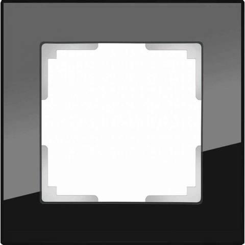 Werkel Рамка W0011108 (WL01-Frame-01) черное стекло