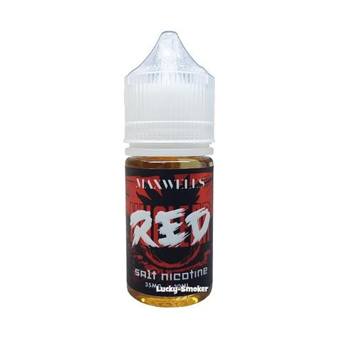 Жидкость Maxwells Salt Nicotine 30 мл Red