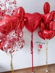 Воздушные шары для девушки