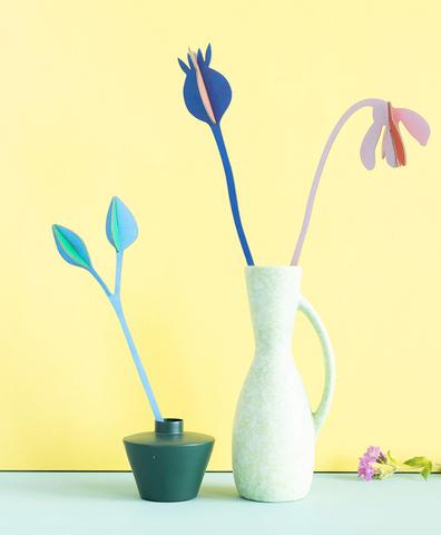 Бумажные цветы Summer Jazz
