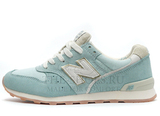 Кроссовки Женские New Balance 996 Light Blue White Gold