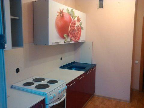 Кухня с фотопечатью Гранат
