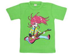 3025-23 футболка детская, зеленая