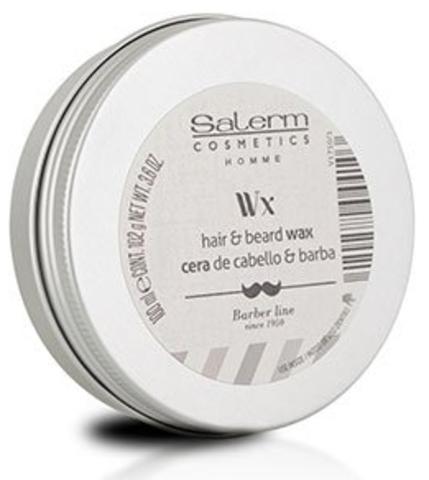 Воск для волос, бороды и усов, Salerm Homme, 100 мл.