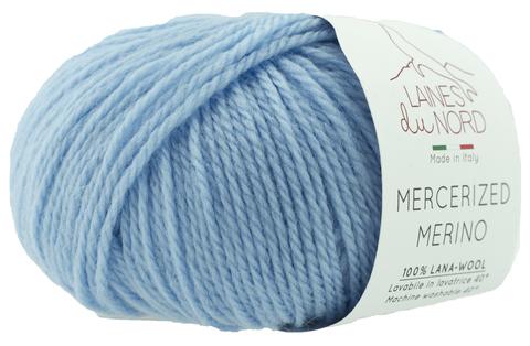 Пряжа Mercerized Merino (Мерсеризед Мерино). Голубой. Артикул: 11