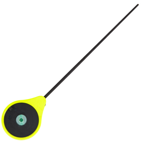 Удилище зимнее LUCKY JOHN Mormax 24.6 см, катушка 45 мм, цвет жёлтый, арт. LJ103-01