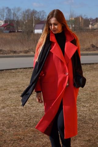 Пальто женское свободного кроя Natiso