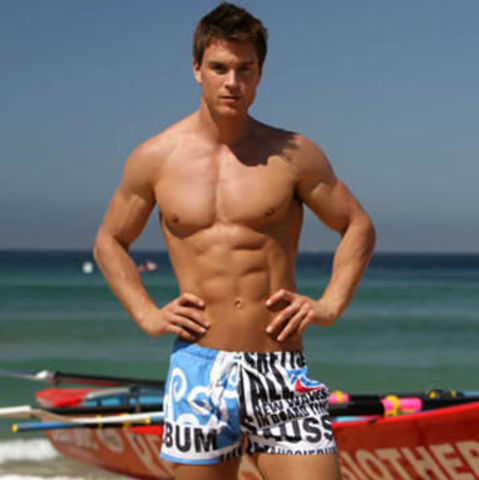 Мужские пляжные шорты Aussiebum Beach Short Scent Torquay