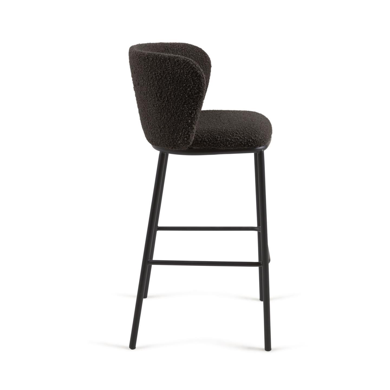 Барный стул CISELIA черный - вид 2