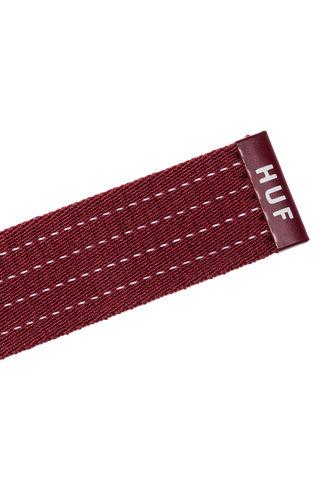 Ремень HUF бордовый фото 2