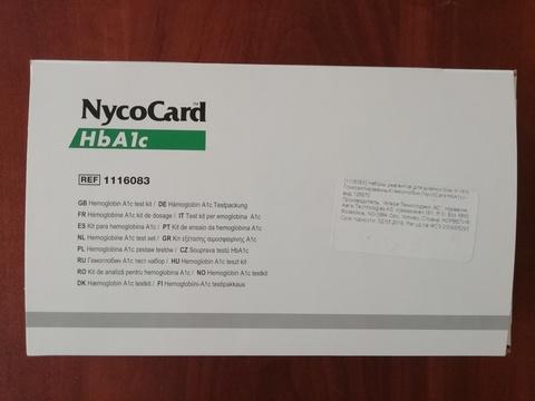 1042184-1116083 Тест-система для определение гликолизированного гемоглобин в крови человека Никокард (NycoCard HbA1c), 24 теста /Axis-Shield, Норвегия/