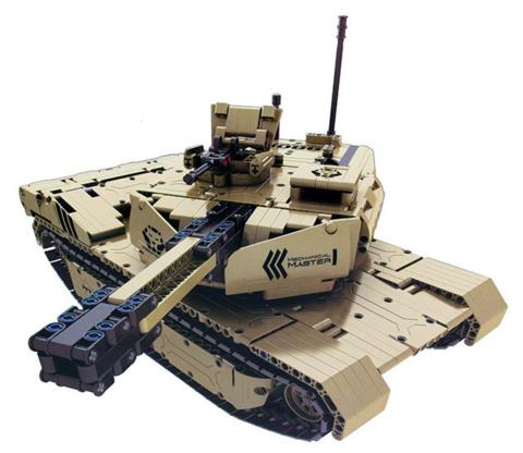 Конструктор серия Армия Радиоуправляемый танк