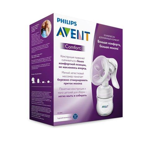 Ручной молокоотсос Philips AVENT Comfort SCF330/40