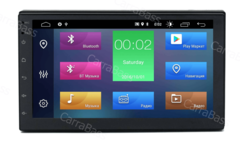 Универсальная автомагнитола 2DIN 178 х 100 мм.Android 10 2/16 GB IPS DSP  модель HT-7017