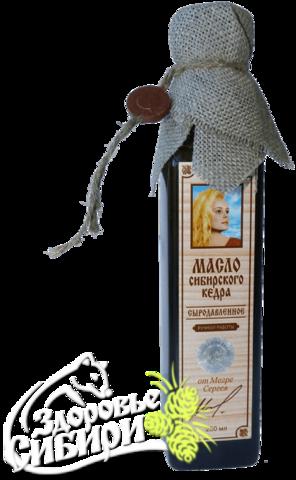 Масло кедровое ручной работы, 250 мл ( изготовитель семья Михеевых)