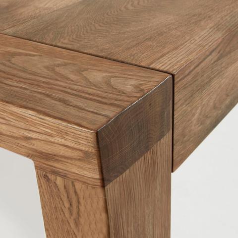 Обеденный стол Vivy 200(280)x100 состаренный дуб