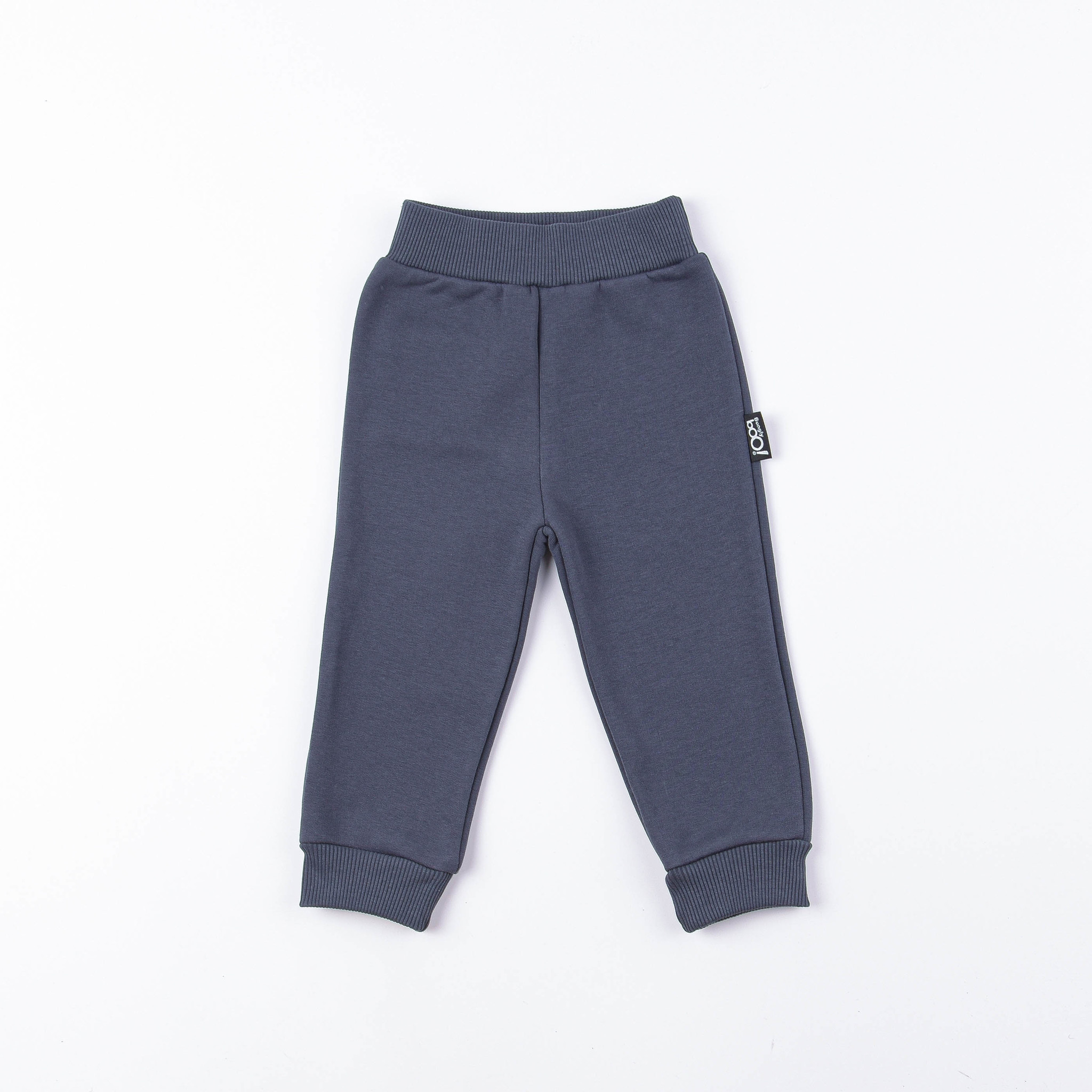 Warm trousers with pockets - Graphite