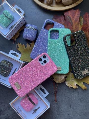 Чехол iPhone 12 Pro Max /6,7''/ Onegif Glitter case