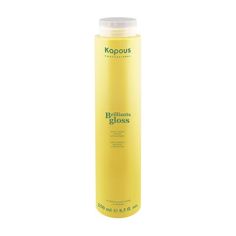 Блеск - шампунь для волос Brillifnts gloss Kapous Professional 250 мл