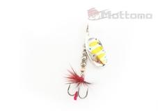 Блесна Mottomo Fire Blade #2 6g Silver 29