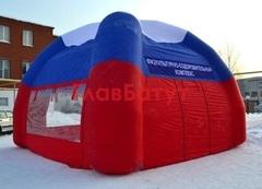 Надувная палатка-павильон четырехопорная