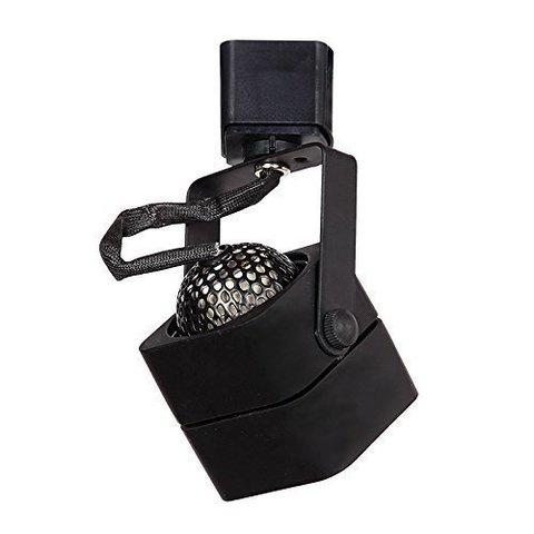 Квадратный светильник под лампу MR16 GU5.3 (черный)