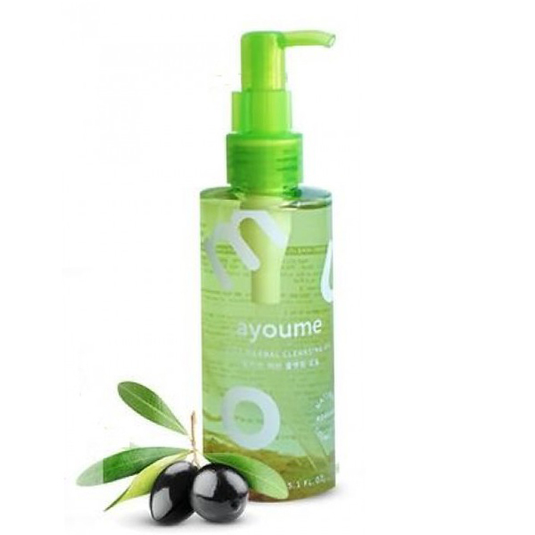 AYOUME Гидрофильное масло для лица очищающее AYOUME OLIVE HERB CLEANSING OIL 150мл Ayoume_Olive_Herb_Cleansing_Oil.jpg