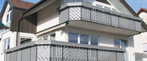 ограждение балконов и веранд