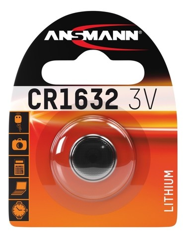 Батарейка литиевая CR1632 ANSMANN 3V