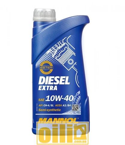 Mannol 7504 DIESEL EXTRA 10W-40 1л