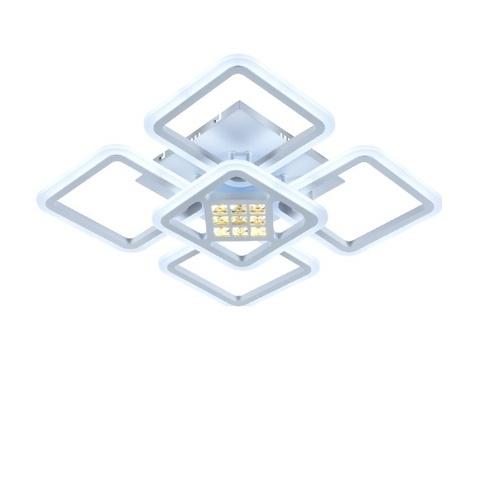 Потолочная светодиодная люстра MX-8859/4+1 WH