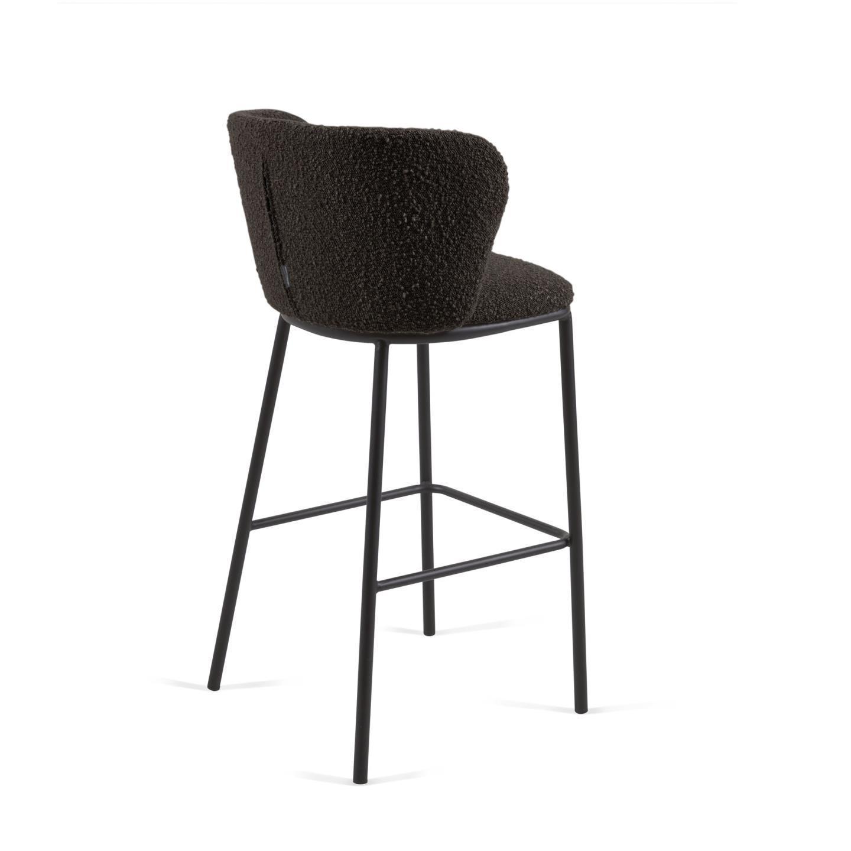 Барный стул CISELIA черный - вид 3