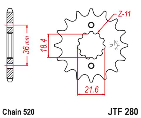 JTR280