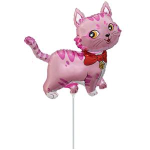Мини Фигура Кошечка розовая 33 Х 33см