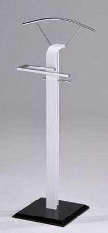Вешалка для одежды напольная костюмная СН-4450-WT бело-черный