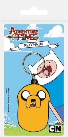 Брелок силиконовый Adventure Time Джейк