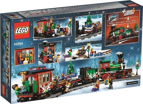 LEGO Creator Expert: Новогодний экспресс 10254 — Winter Holiday Train — Лего Креатор Творец Создатель Эксперт