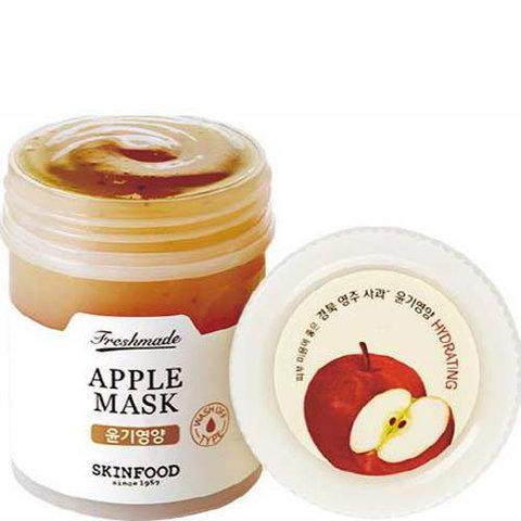 Skinfood Freshmade Apple Mask питательная и омолаживающая яблочная маска для лица