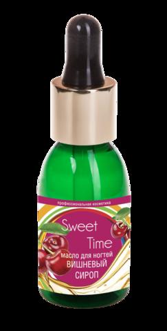 Масло для ногтей Вишневый сироп Sweet Time