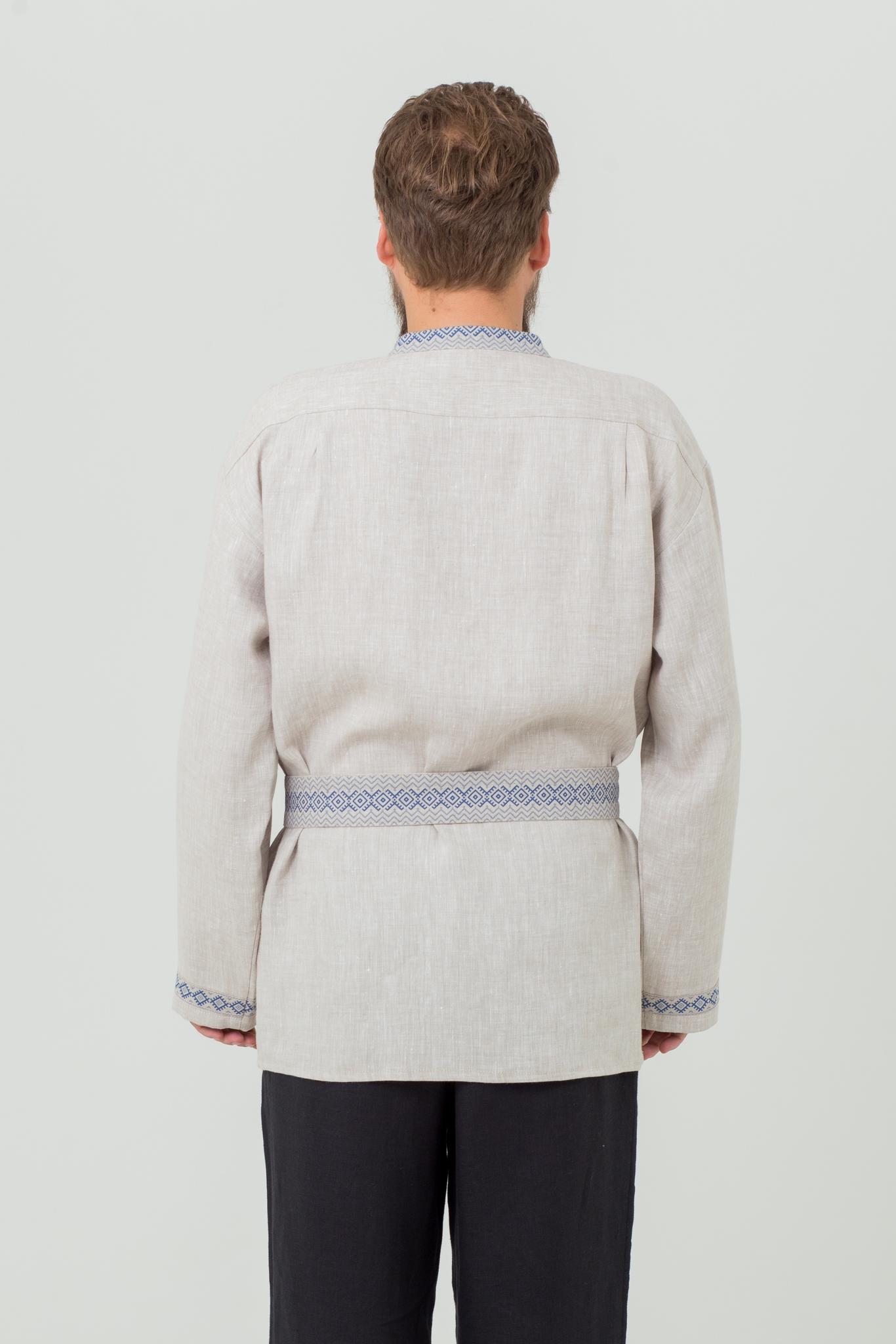 Русская народная рубаха Льняной дождь купить