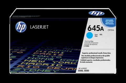 Оригинальный картридж HP C9731A (№645A), голубой