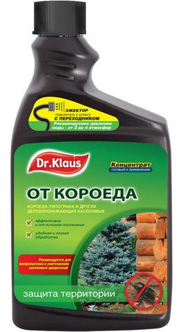 Dr.Klaus Запаска (концентрат) от короеда. 1л инсектицид