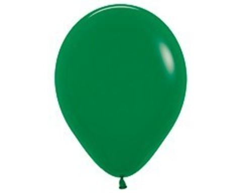 Шарики цвета зеленый лес