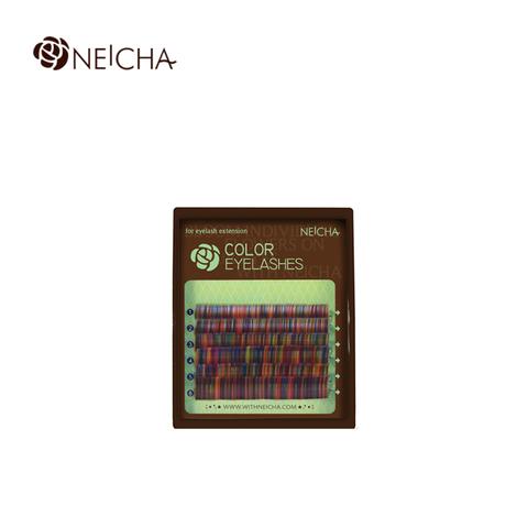 Ресницы NEICHA нейша колорированные 6 линий Rainbow