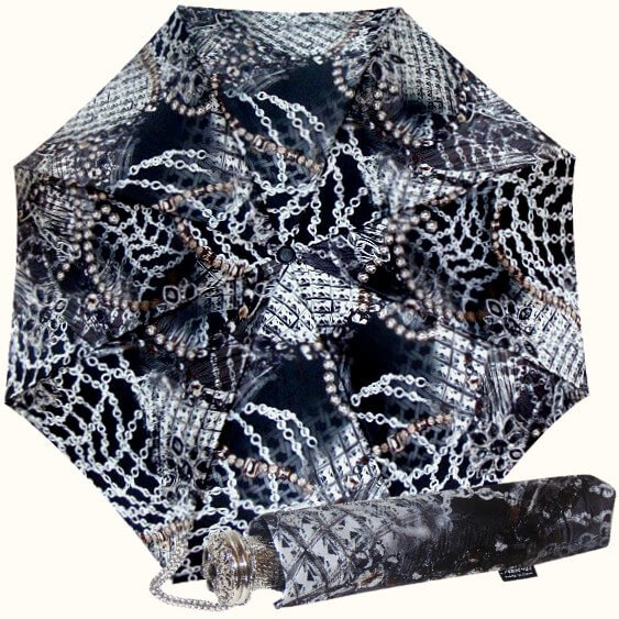 Зонт складной Pasotti 58044/3-B54 Jewels