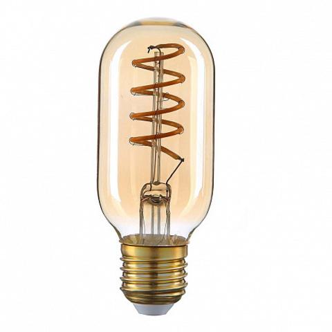 Светодиодная ретро лампа T45 Spiral LED 5W E27 2200K