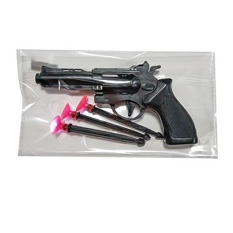 Оружие детское - Пистолет с пулями-присосками в пак.,1кор*1бл*5шт