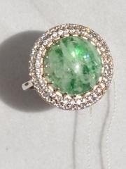Мадлен  (кольцо  из серебра)