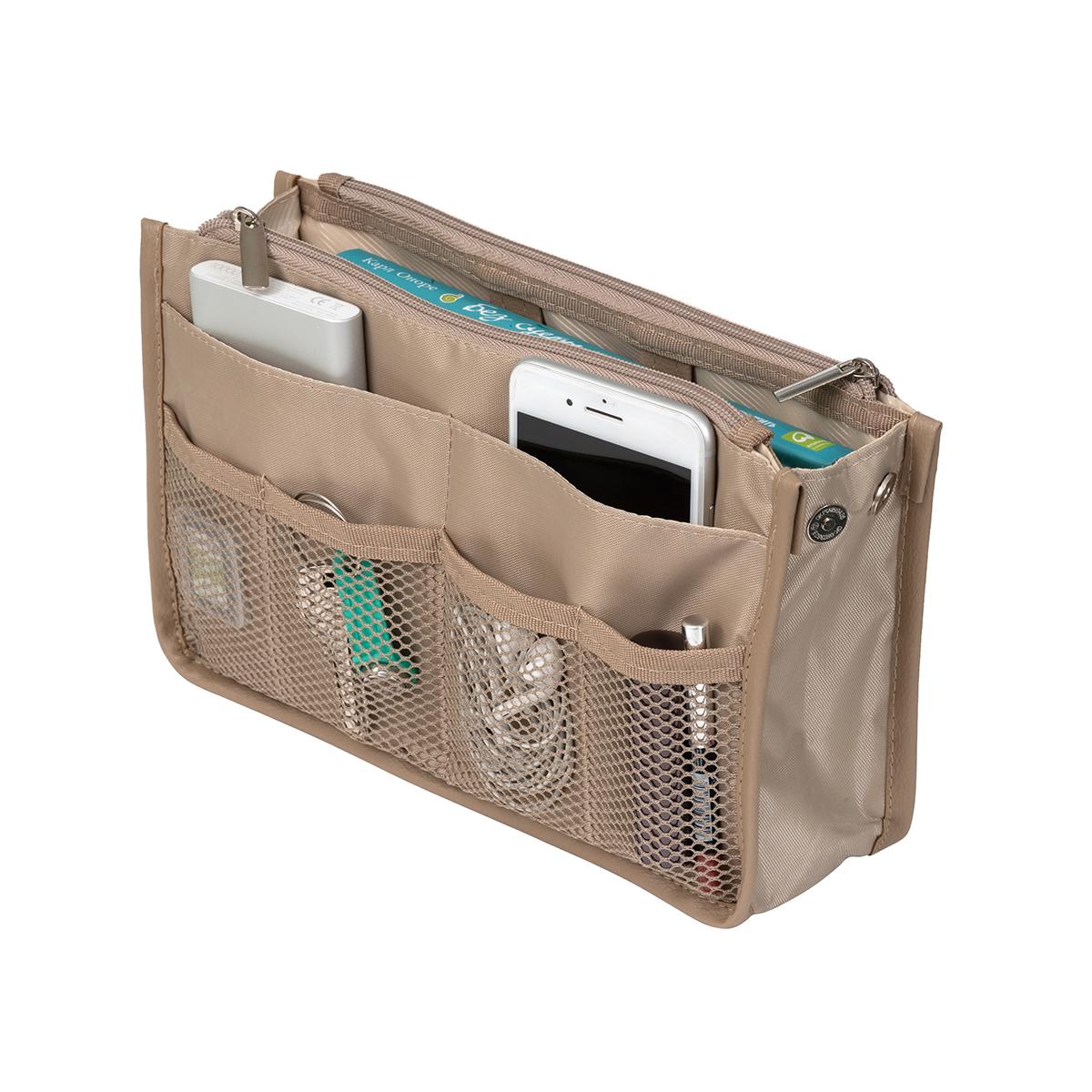 Органайзер для сумки SOFIA 28х17х8,5 см, бежевый